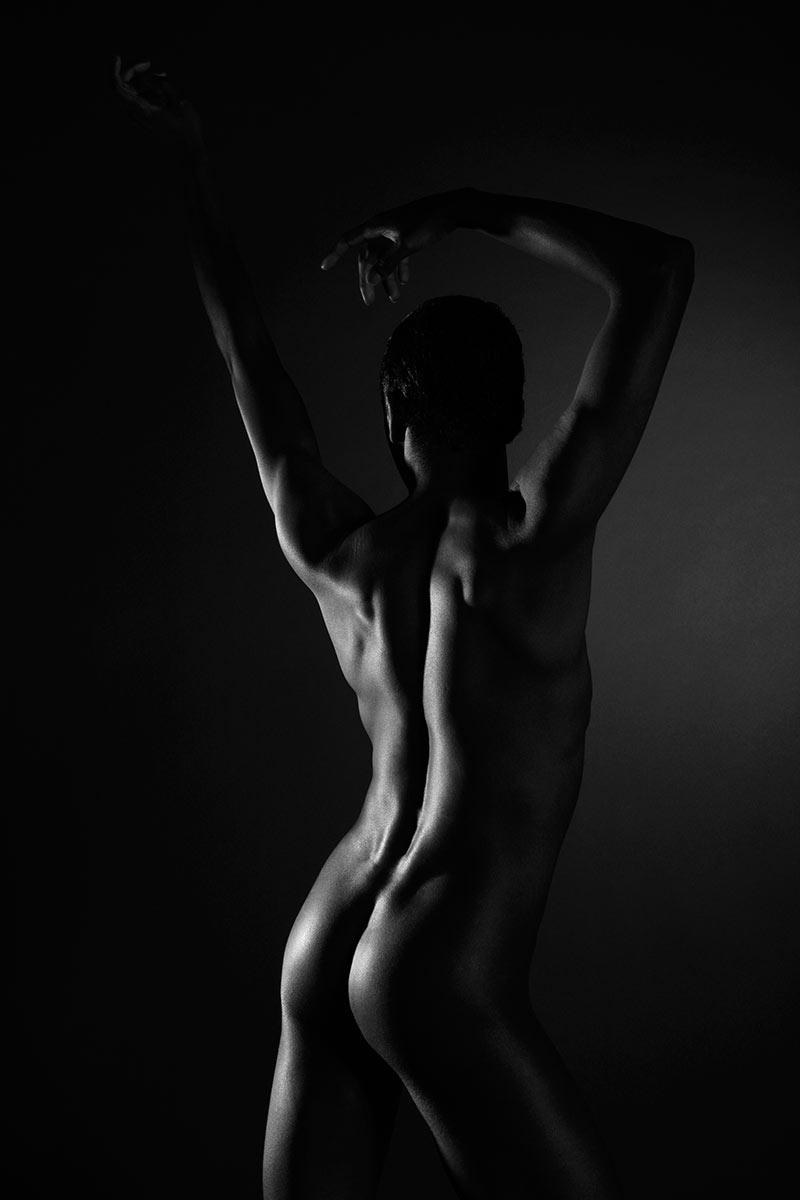 Männer-Akt im Fotostudio Jürgen Cezanne
