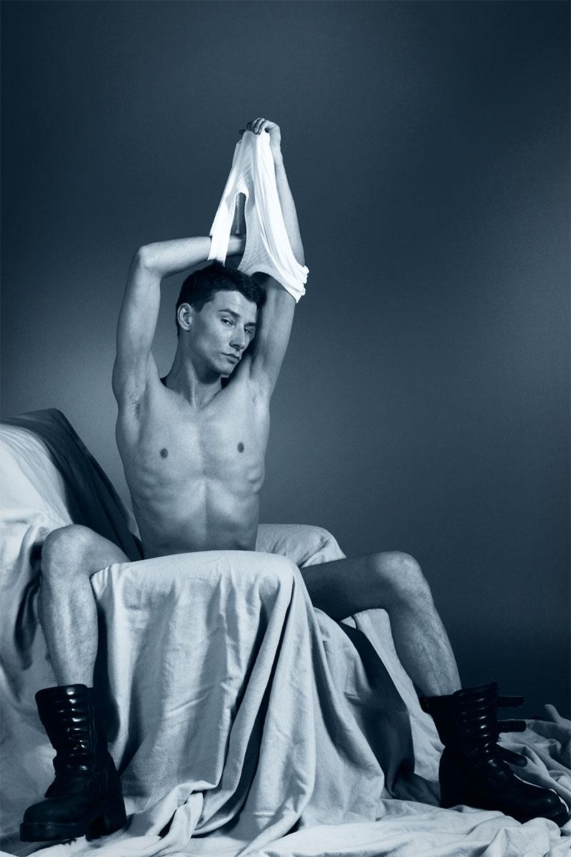 Männer-Akt von Fotograf Jürgen Cezanne