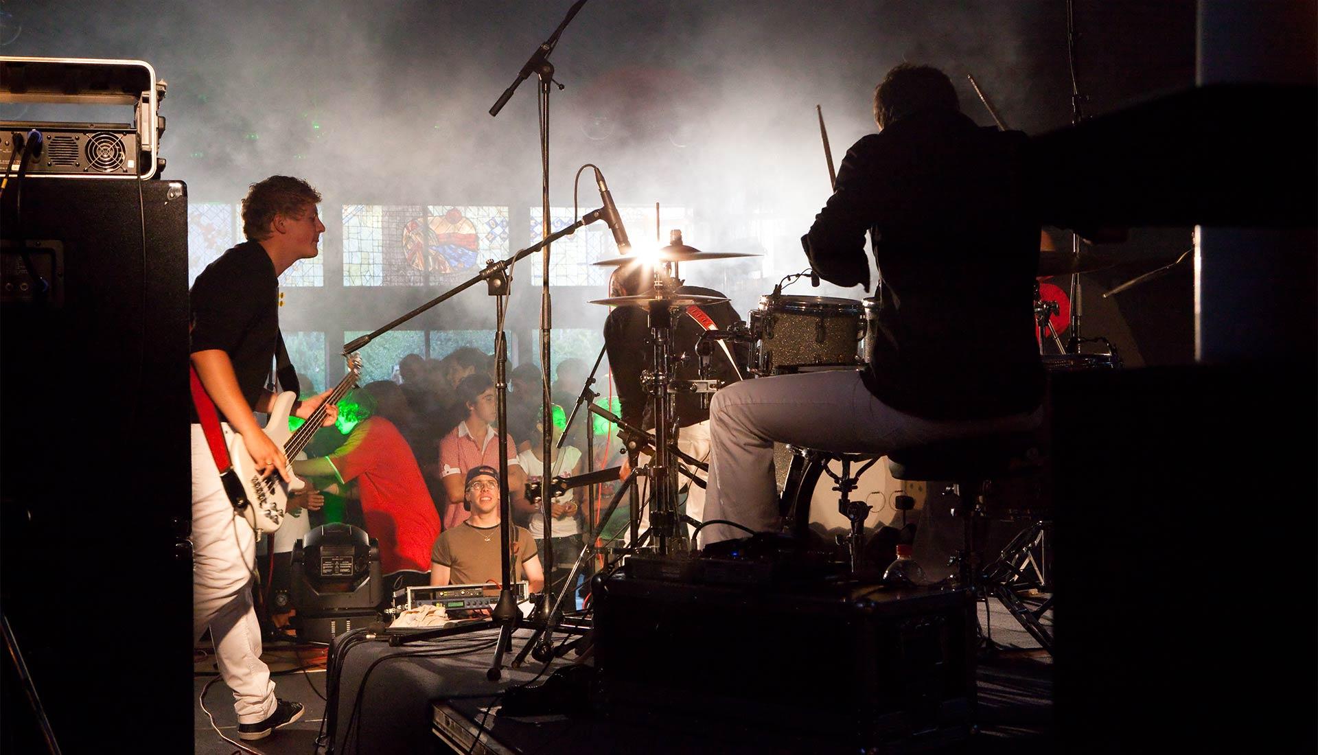 Konzertfoto Arbaitnehmer von Fotograf Jürgen Cezanne