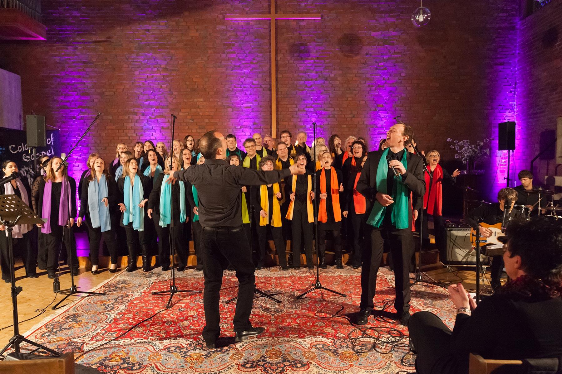 Konzertfoto Colours of Gospel von Fotograf Jürgen Cezanne