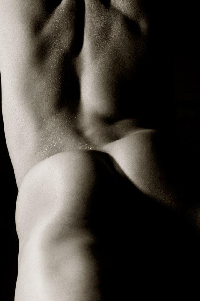 Männerakt von Fotograf Jürgen Cezanne
