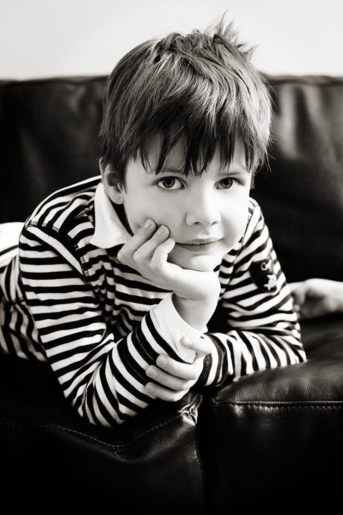 Kinder-Portrait von Fotograf Jürgen Cezanne